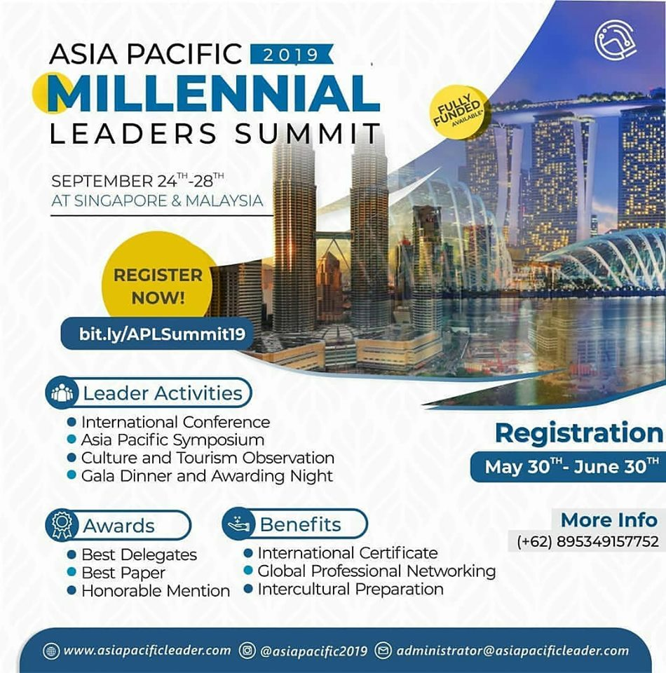 ASIA PACIFIC MILLENNIAL LEADERS SUMMIT 2019 - Opportunity Nepal